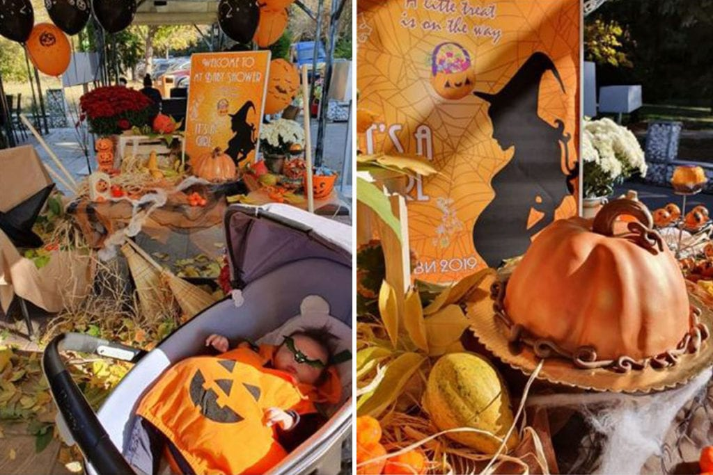 halloween baby shower ideas