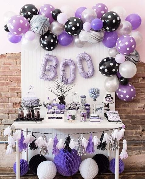 Halloween baby shower themes