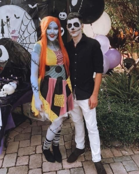 sally and jack skellington baby shower